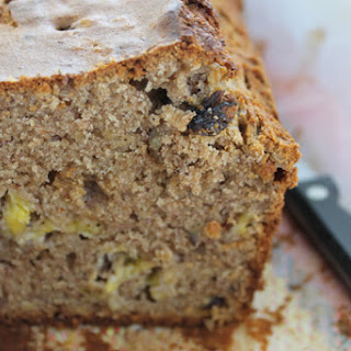 Banana Cake With Walnuts, Dates And Raisins