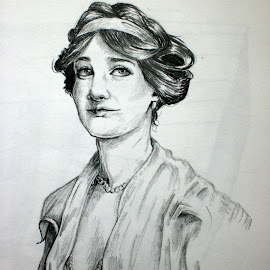 Gentle by Natasha Rupert - Drawing All Drawing ( pencil, sketch, woman, lady, drawing )