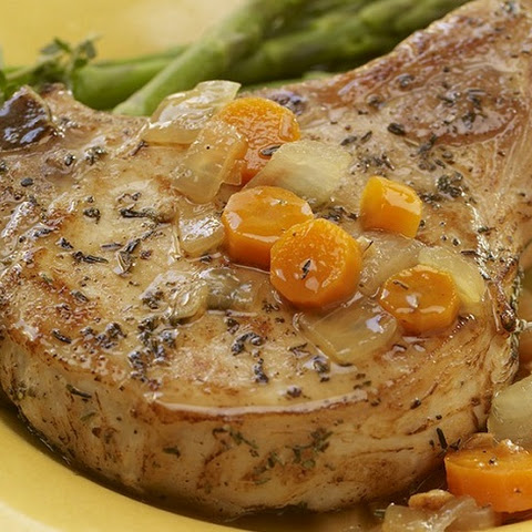 Slow Cooker Herbed Pork Chops