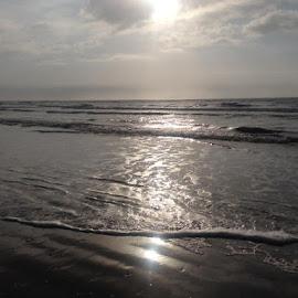 Ocean by Brenda Shoemake - Black & White Landscapes