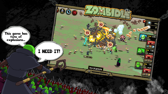 Zombidle Screenshot