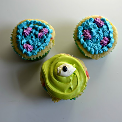 Monsters Inc.Cupcakes