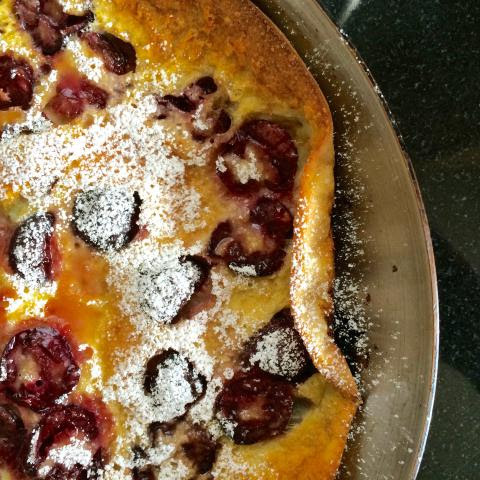 Make a Cherry-Laden Dutch Baby