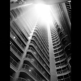 by Kendrick Burks - Buildings & Architecture Architectural Detail ( hotel, Miami, Florida, bright, sun )