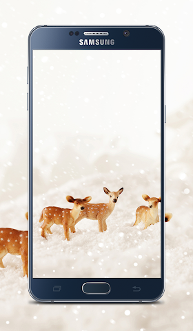 android Christmas New year Wallpapers Screenshot 5