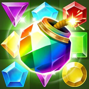 Jungle Gem Blast: Match 3 Jewel Crush Puzzles For PC (Windows & MAC)