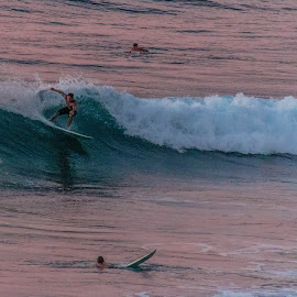 Rincon surfers by Dale Youngkin - Sports & Fitness Surfing ( rincon, puerto rico, surfing, surfer, sunset, surfers )