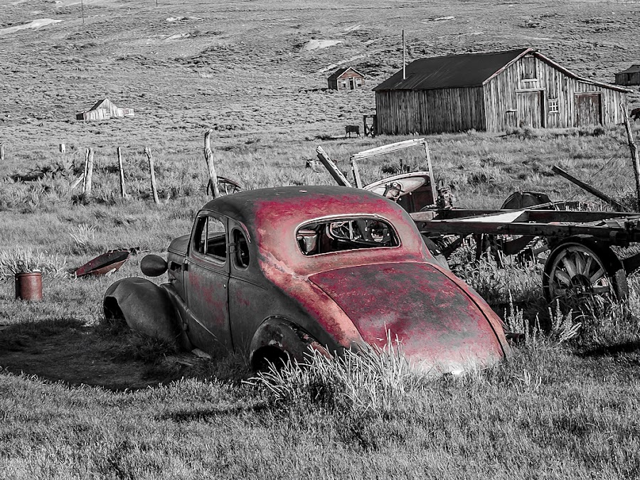 by Brent Clark - Transportation Automobiles ( car, automobile, abandned, transportation )