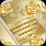 Gold Rose Keyboard Theme Icon