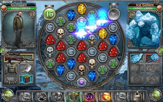 Gunspell - RPG And Puzzle! APK screenshot thumbnail 2