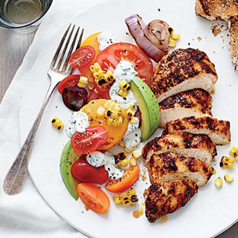 Flank Steak with Tomato-Avocado Salsa Recept | Yummly