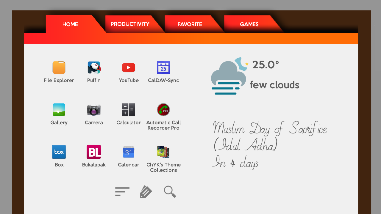 Agenda2 for Total Launcher Screenshot 6