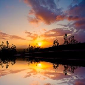 Magic Worlds by Fabrizio Reali - Landscapes Sunsets & Sunrises ( clouds, canon, colors, sunset, cloi, cloud, light, sun )