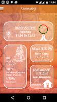 Screenshot of Shrinathji Temple-Official App