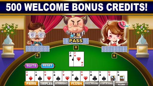 BIG 2: Free Big 2 Card Game & Big Two Card Hands! screenshot 1