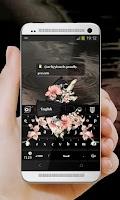 Screenshot of Elegant Black GO Keyboard