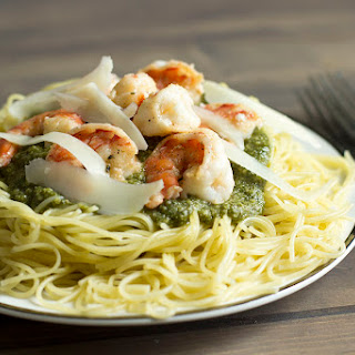 Shrimp Pasta With Pesto Sauce Recipes