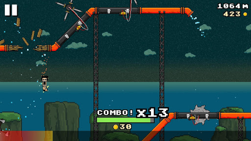 8-BIT WATERSLIDE - screenshot