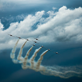 Here they come !! by Philippe Lacroix - Transportation Airplanes