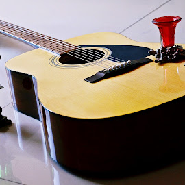 Guitar moods by Pradeep Kumar - Artistic Objects Musical Instruments