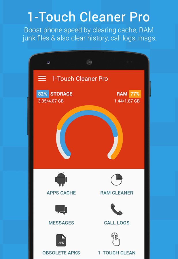 1-Touch Cleaner (Booster) Pro Screenshot 0