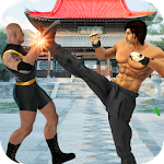 Real Superhero Kung Fu Fight Champion Icon