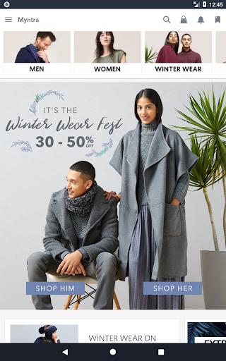 Myntra Online Shopping App screenshot 13