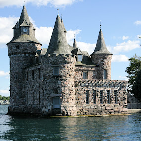 Power house. by Cal Brown - Buildings & Architecture Homes ( thousand islands, st. lawrence river, alexandria bay, bolt castle,  )