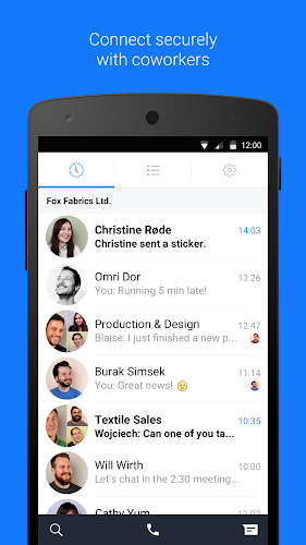 Workplace Chat by Facebook Android App Screenshot