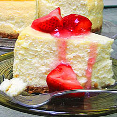 New York Deli-Style Cheesecake
