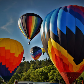 Up, Up and Away. by Monroe Phillips - Transportation Other (  )