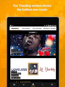Audiomack Mixtapes & Music App APK screenshot thumbnail 7