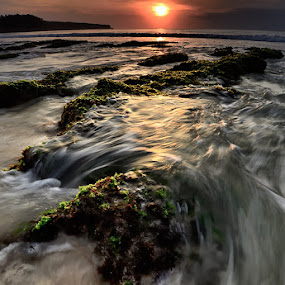 swelled wave by Dody Herawan - Landscapes Sunsets & Sunrises