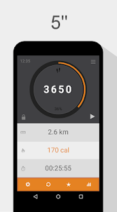 365 Pedometer Fitness app screenshot 1 for Android