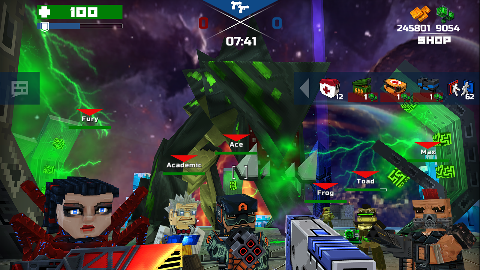 Pixelfield - Best FPS MOBA Strategy Game Screenshot 3