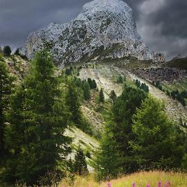 Piz de Putia by Mark Soetebier - Landscapes Mountains & Hills ( dolomiten, passo delle erbe, piz putia, val badia, odle, dolomiti, parco naturale delle odle - putia - dolomiti - unesco, dolomites, val gardena, putia )