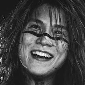 Hiroki Ikegawa of Crossfaith by Aaron Hiscock - People Musicians & Entertainers ( music, japan, band, d700, 2015, osaka, slamdunk, show, japanese, nikon, tour, crossfaith, gig )