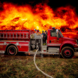 BLFD by Michael Buffington - Uncategorized All Uncategorized ( fire truck, fire )