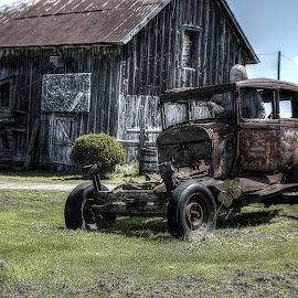 old car by Daniel Caron - Transportation Automobiles (  )