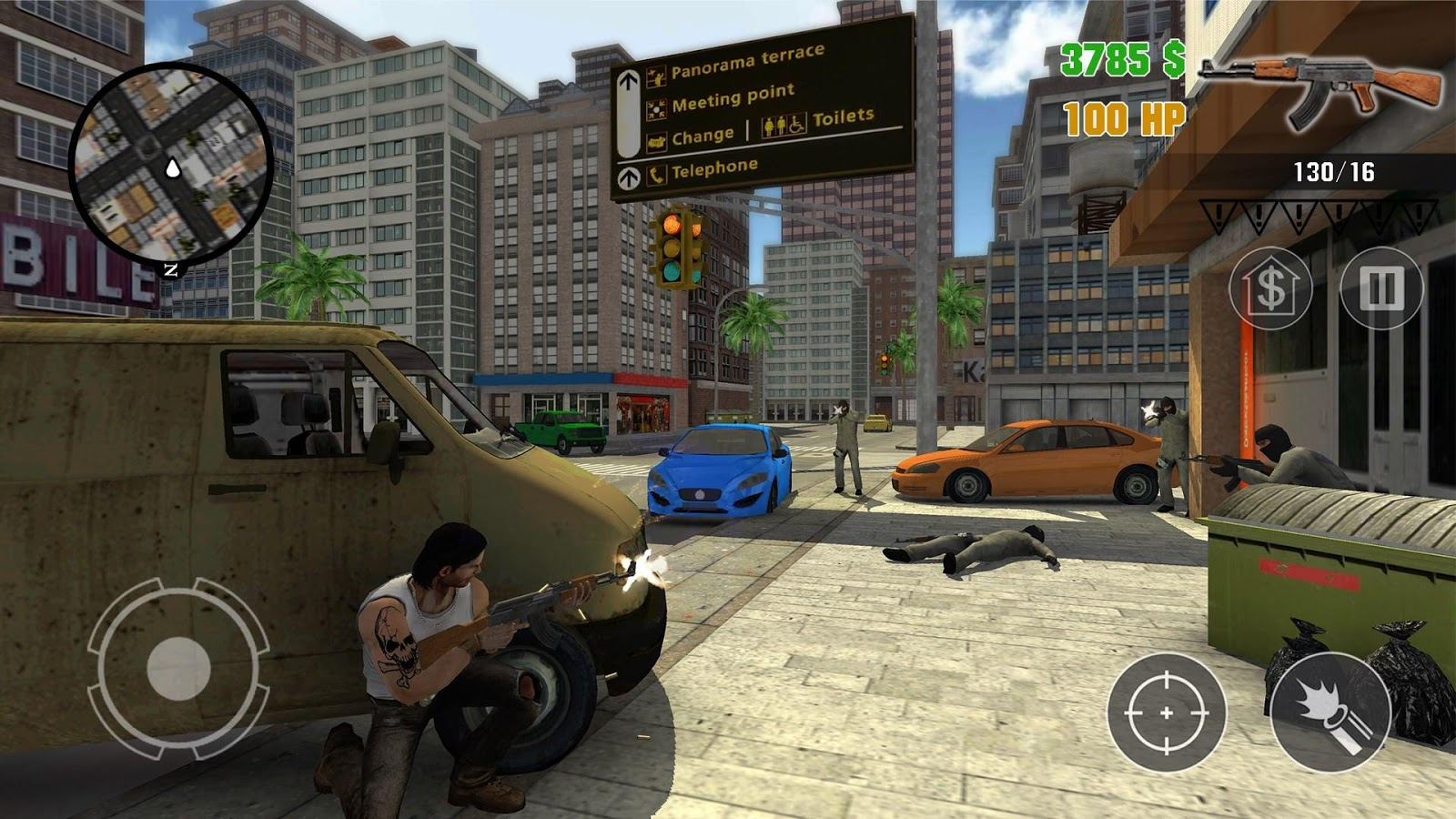 Clash of Crime Mad City War Go Screenshot 13