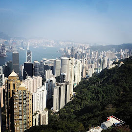 From the peak HK by Ign Hadi - City,  Street & Park  Skylines
