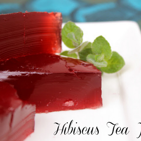 Hibiscus Tea Jello