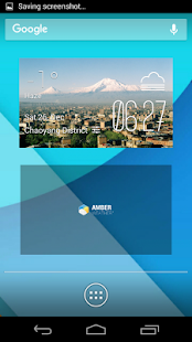 Ararat weather widget/clock - screenshot
