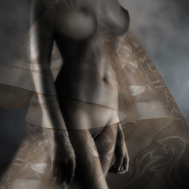 SHE SAID YES by Carmen Velcic - Nudes & Boudoir Artistic Nude ( abstract, body, nude, woman, she, girl. lady, digital )