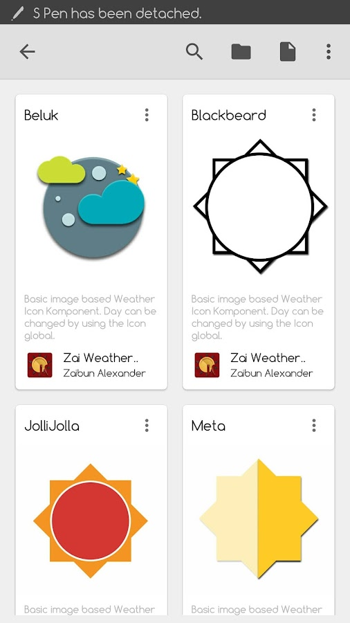Zai  Weather Komponents Kustom Screenshot 1