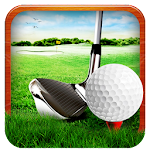 Professional Golf Play 3D Icon