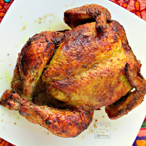 Whole Roast Masala Chicken (Indian-style)