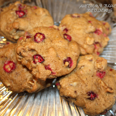 Cranberry Walnut Chocolate Chip Cookie