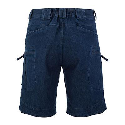 Шорты длинные джинсовые UTS - Helikon-Tex - тёмный нэви
