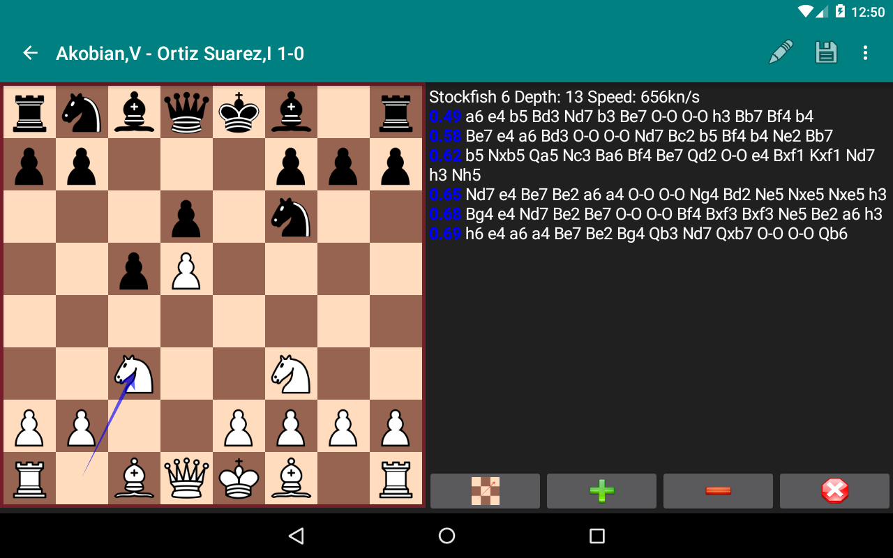 Perfect Chess Database Screenshot 17
